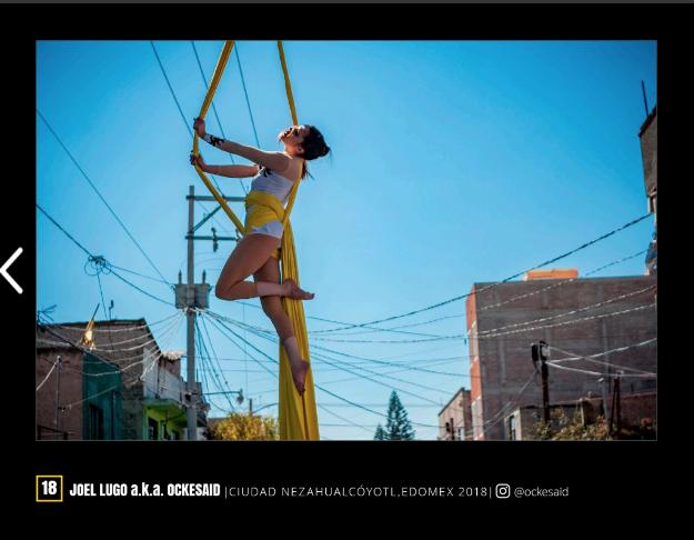 Danza Aérea por Ockesaid a.k.a Joel Lugo - Street Photographer