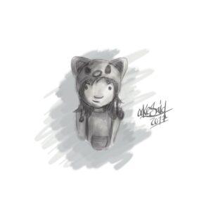 Bocetos, Sketchbook Pro + Wacom Intuos 3d por Ockesaid a.k.a. Joel Lugo